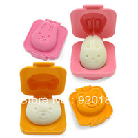 Baby Cartoon Egg Rice Balls Dual Rabbit Egg Set  For Sushi Mold