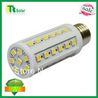 6pcs/lot Free shipping 9W 50 LEDS Corn Light Bulb E27/E14 LED Lighting 900-1000 Lumens warm/Cool White Light 220V 360 Degree