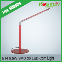 LED Desk Lamp Shield Eye Creative Contracted Folding Work Students USB Lamp Free Shipping