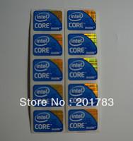 NEW 10PCS intel CORE i5 inside sticker logo 21*16mm
