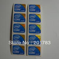 NEW 10PCS intel CORE i7 inside sticker logo 21*16mm