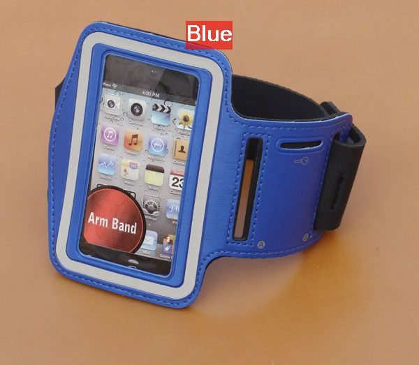 10 pcs/lot Sport Armband For iPhone 4S Colorful Arm Band For iPhone 4 3GS Travel Accessory For iPod itouch Video FREE SHIPPING(China (Mainland))