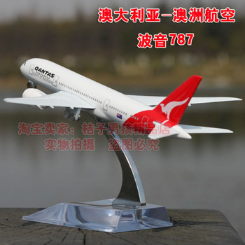 Boeing 787 australia model alloy metal model airliner