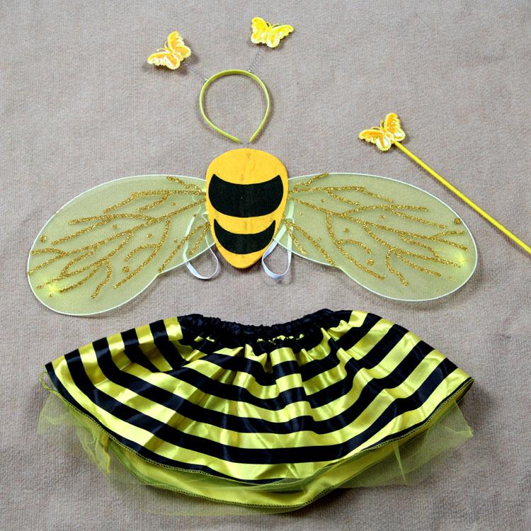 Как связать крылья пчелки своими руками 54