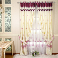 Meters fashion curtain modern rustic fresh screens romantic sweetheart