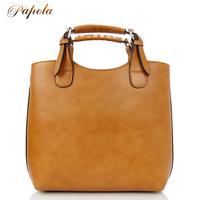 Fashion vintage papola women's genuine leather handbag 2012 spring and summer cowhide handbag one shoulder bag zt9138