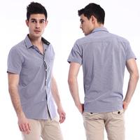 Summer new arrival 2013jasonvogue fashionable casual short-sleeve shirt summer short-sleeve shirt