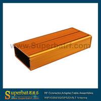 """Aluminum Box Enclosure Case -4.32""""*1.89""""*0.98(L*W*H) electrical junction box dimensions"""