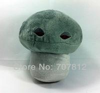 "Plants Vs Zombies toy  Plush Doll decorations soft stuffed toys  Doom-Shroom 6.25"" cute plush  toys for children free shipping"