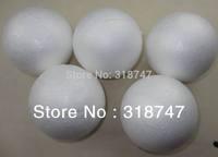 Free shipping  7cm natural white styrofoam round balls Craft ball foam ball diy handmade painted ball (50pcs/lot)041005(3)