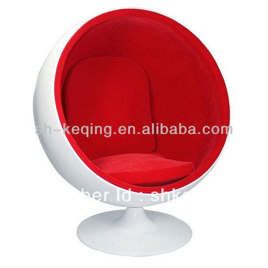 durable fiberglass swivel round chaise lounge chairs ball ch