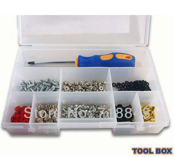 Brand New PC DIY Tool Box Parts Screw Kit Set(China (Mainland))