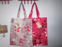 Portable shopping bag pocket paper bags eco-friendly bag gift bag print waterproof coating cloth