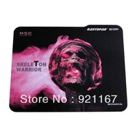 Hot sale!Free shipping Rantopad H1 Mini-Skeleton Warrior Mouse pad, 280*220*3mm, Speed version Gaming Mouse Pad