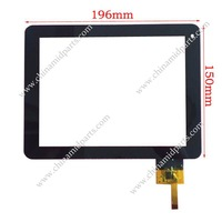 Touch Screen Digitizer Replacement Parts For Ployer momo8 inch tablet PC