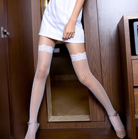 Sexy lace fishnet stockings black stockings lace decoration socks mesh stocking socks
