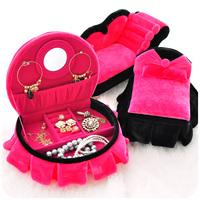 Free Shipping . cosmetic box jewelry box princess sofa jewelry box luxury jewelry box