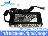 DHL FREE SHIPPING For Original Genuine TOSHIBA 180W AC Power Adapter 19V 9.5A Power Supply PA3546E-1AC3 / ADP180HB B