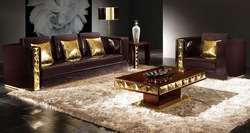 modern home furniture high quality living room furniture sofa leather sofa Pu sofa B001(China (Mainland))