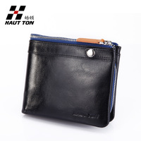 Free Shipping + Leather Coin Wallet + Man Purse + Men Wallet + 100% Genuine Leather