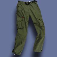 2013 Free Shpping Original Men windproof fleece lining thick multi-pocket overalls warm pants cc2-c431