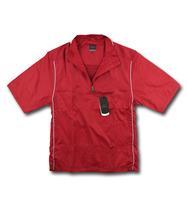 Men windproof water quick-drying pullover half of the zipper stand collar short-sleeve T-shirt de1-c278
