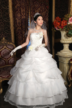 DDBB--Suzhou latest wedding dress 2013 Korean version of the retro wedding royal Bra sweet and elegant wedding