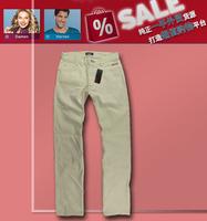 2013 Free Shipping Original Male Men 100% cotton casual pants super x9-b607