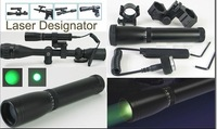 Free Shipping N30 Laser flashlight with switch mount laser designator  sight for rifle green optical Coated glass night hunting