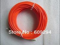 LC-LC fiber optic Patch cord,Duplex,MM,OM2 40meters,2mm  fiber patch cord Multi-mode fiber