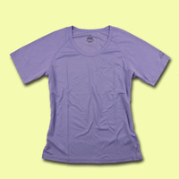 Chromophous Women quick-drying sweat absorbing quick dry sports o-neck short-sleeve T-shirt cb5-c605