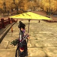 Oiled paper umbrella luo umbrella 3 umbrellas cos props umbrella
