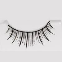 Free Shipping Long Black Korean False Eyelashes Fake Eye Lashes Extensions Strip Makeup 50 pairs/lot #112