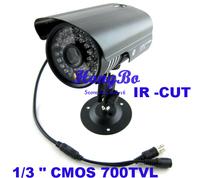 "Special offer,1/3 ""CMOS 700TVL IR-CUT Filter Indoor/Outdoor Waterproof 36pcs IR Home Video Surveillance Security CCTV Camera"