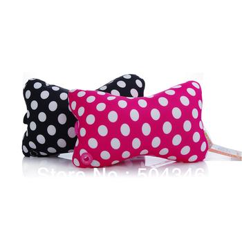 Free shipping!(A couple/2pcs) Fashion 1 mode Neck   Electric massage Pillow  Bone car Pillow Travel rest pillow Wholesale MY2501