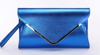 2013 Hot! Free shipping ladies Day clutch, female fashion clutch, shinning envelope bag, party bag, evening purse