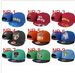 24ps/lot HOT AFL NRL snapback cap hats snapbacks caps Adjustable sports hats mix order(China (Mainland))