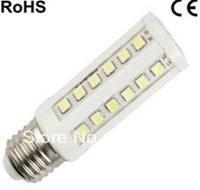 Corn LED Bulb E27/B22/E14 500LM 220V/110V 8W 44pcs SMD Lamp White Spotlight 360 Degree LED Lighting/Tubes Free Shipping
