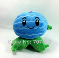 "Plants Vs Zombies toy  Plush Doll decorations soft stuffed toys Winter melon 5.5"" cute plush  toys for children free shipping"