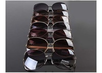 New Womens And Mens Metal Sunglasses Cool Designer Sun Glasses UV400 Mix Colors 20pcs/lot Free Shipment