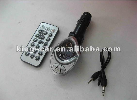 free shipping 12V FM Bluetooth Car MP3 player KC-168K(China (Mainland))