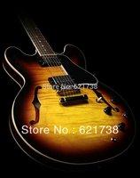 best china guitar Custom Shop ES 335 Dot Reissue Figured, Gloss Vintage Sunburst OEM Musical