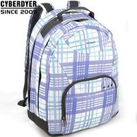 free shipping blue check fashion women's laptop backpack female bag backpack 14 laptop bag