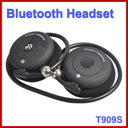 Hight Quality Universal Stereo Wireless Bluetooth Earphone Foldable Neckband Bluetooth Headsets Headphone for Mobile Phone(China (Mainland))