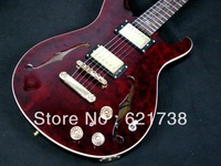 best china guitar Reed Hollowbody II Figured Maple Top And Piezo Electric Guitar w mon Inlays OEM