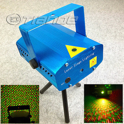 150MW Mini Red & Green Moving Party Laser Stage Light laser DJ party lighting Twinkle 110-240V 50-60Hz With Tripod Free Shipping(China (Mainland))