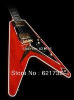 best Custom Shop Flying V Custom, Custom One-Off, Faded Cherry Electric Guitar