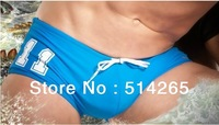 Wholesale 10pcs/Lot  Free Shipping  NEW 11 Number Men's Sexy  fashion swimwears surfing  swimming trunks    Briefs