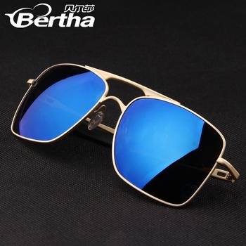 2014 Top Blue Ray Fashion Brand Polarized Men Sunglasses Prevent Ultraviolet Designer Driving Glasses Free Shipping MT426