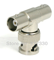 Free Shipping 10 PCS BNC Male to T Adapter BNC Female INS-BTBMF